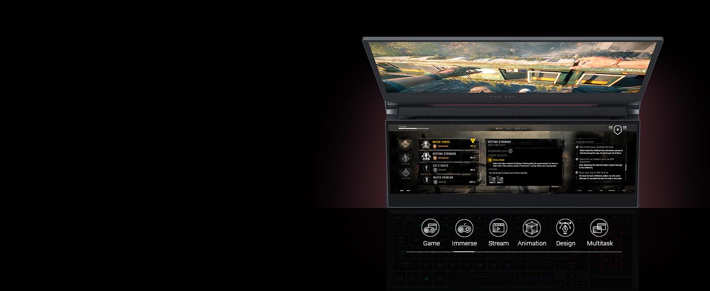 ScreenPad Plus: Game