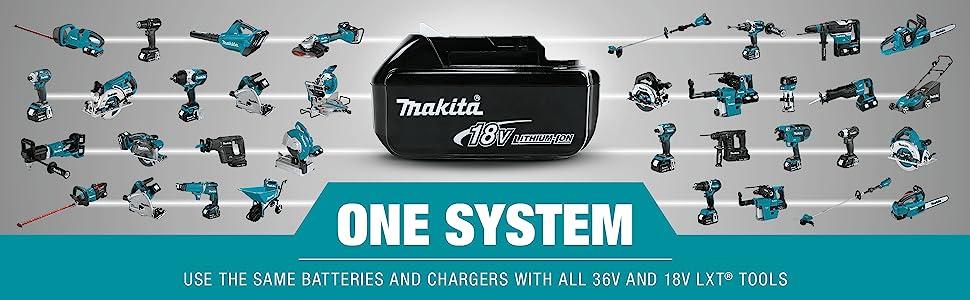 one system use same batteries charger platform 36v 18v LXT tools series collection options