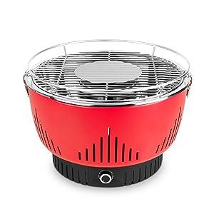 Medion MD 17700 - Barbacoa Grill con ventilación activa ...