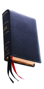 NKJV New King James Holy Bible Leather Reference Single Column