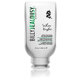 white knight, facial cleanser, billy jealousy, skin care, men's grooming, face wash