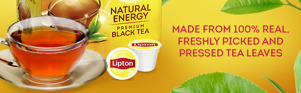 Made from 100% real, freshly picked and pressed tea leaves