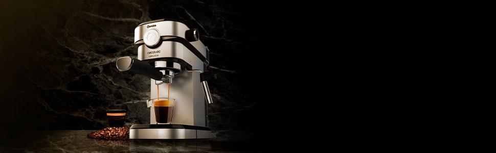 Cecotec Cafelizzia 790 Steel Pro Cafetera express, Acero ...