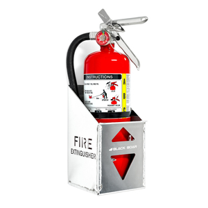66105 fire Extinguisher Durable Construction Securely Holds a 5lb Black Boar Aluminum Holder/for Enclosed Trailer//Garage Easy to Install