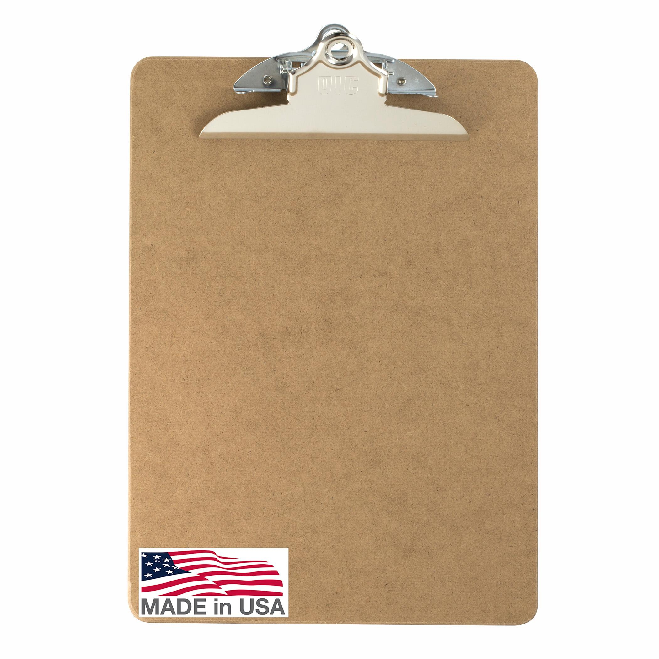 amazon com officemate wood clipboard letter size recycled 1