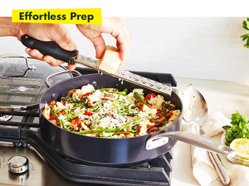 GreenPan, Searsmart, Healthy Ceramic Non stick, Cookware set, metal utensil safe, diamond nonstick