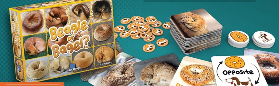 beagle, bagel, game, card game, travel game, dog, meme