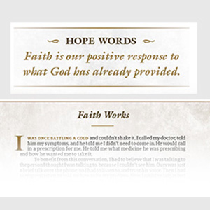 Hope words, words of hope, faith works, encouragement, Bible encouragement, scripture empowerment