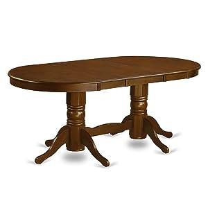 Amazon.com - East West Furniture VANC7-ESP-C 7-Piece Dining Table ...