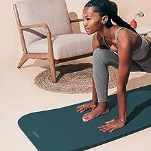 retrospec, solana, incline, fitness, mat