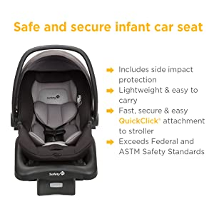 Amazon.com : Safety 1st Smooth Ride Travel System with OnBoard 35 LT ...