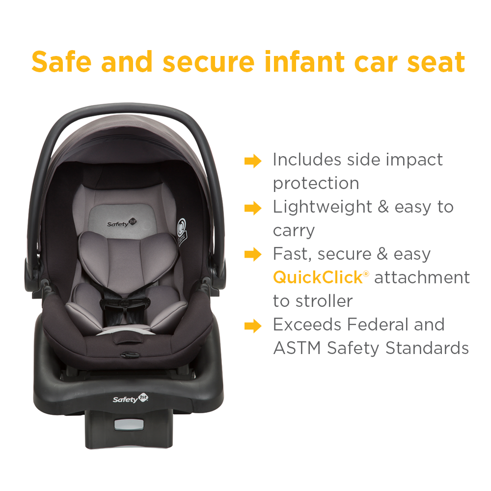 amazon com safety 1st smooth ride travel system with onboard 35 lt rh amazon com Disney Safety 1st Stroller Safety 1st Double Stroller