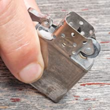 flint, zippo, zippo lighter, replacing the flint, flints, lighter, lighter insert, how to,