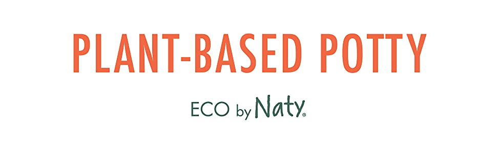 plant-based potty ecological clean potty seat eco by naty made of sugarcane all natural turquoise