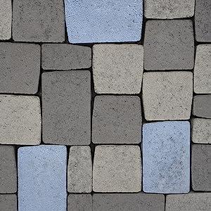 Rayt 1188-81 Blumerox Polvo para Interiores y Exteriores Cemento Blanco o Gris, Cal y Yeso. Altísimo Poder colorante. Pigmentos de Primera Calidad. ...