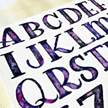 Watercolor's properties as a liquid medium help us achieve beautiful results with lettering.