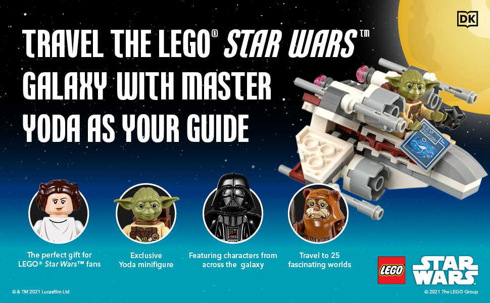 Travel the LEGO Star Wars galaxy with Master Yoda as your guide