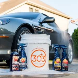 303 products protectant spray wax speed detailer touchless wax tire wheel