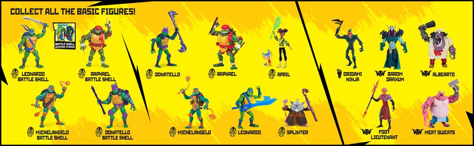 Amazon.com: Rise of the Teenage Mutant Ninja Turtles Foot ...