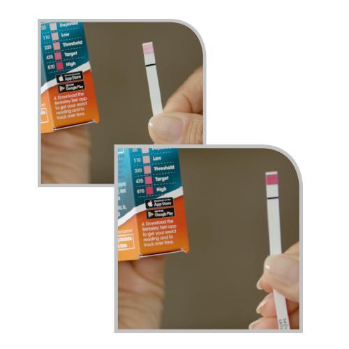Berkeley nitric oxide saliva test strips