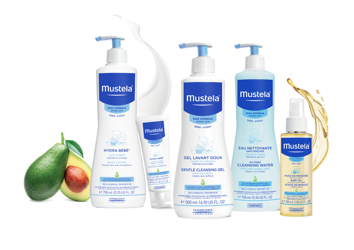 Amazon.com: Mustela 2 in 1 Cleansing Gel, Baby Body & Hair Cleanser ...