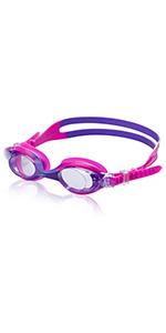 Speedo Kids Skoogles Black / Green Kids Recreational Swim Goggle 12-Pack