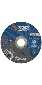 Weiler 58200 4-1/2 x .045 Tiger Aluminum Type 1 Cut Off Wheel