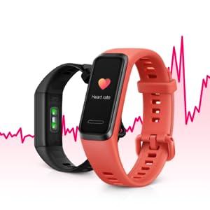 hartslagmeter, hartslagmeter, monitoring, bewaking, Huawei, band, truseen, hartslag, hartslagmeting.