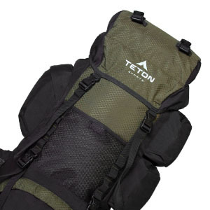TETON Sports Explorer4000 Internal Frame Backpack for multi-day backpacing trips.