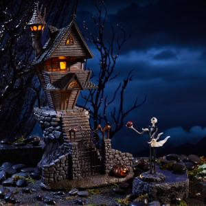 Jack Skellingtons House St//3 Department 56 Nightmare Before Christmas