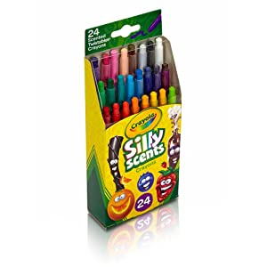 Crayola Silly Scents Twistables Crayons - Side View of Package