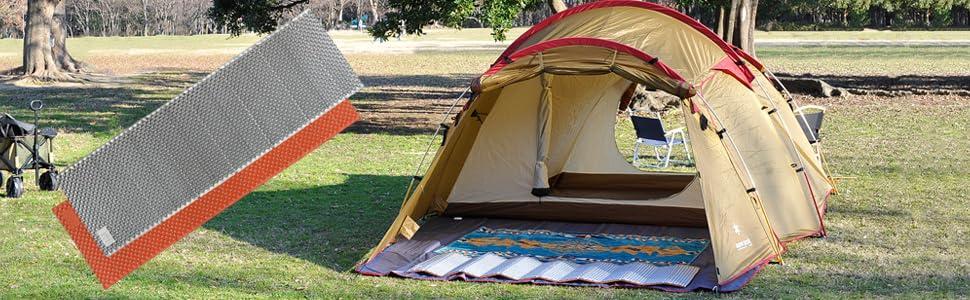 キャンプ キャンプマット 1人用 折りたたみ式 アウトドアマット