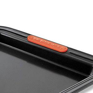 Le Creuset 941007320 Molde Tarta con Base extraíble, Redondo, Ø 26 cm, Libre de PFOA, Resistente a ácidos, Revestimiento de Acero al Carbono, Negro ...