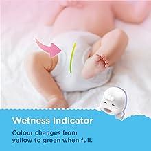 Wetness Indicator Diaper