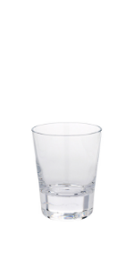 Compare the details of these crystal shot glasses.