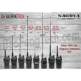 Amazon com: Authentic Genuine Nagoya NA-771 15 6-Inch Whip