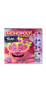 monopoly junior trolls world tour