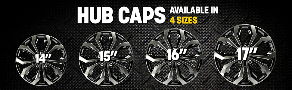 Pilot,silver,spyder,performance,hub cap,wheel cover,easy to install,upgrade your ride,universal