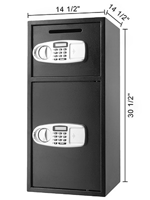 "33"" Strong Iron  Larger Digital  Safe Box"