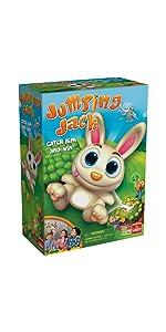 Jumping Jack, rabbit, bunny, carrots, kids, game