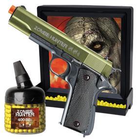 Zombie Hunter, Target Pack, Airsoft, Airsoft Kit, 1911 kit, spring airsoft