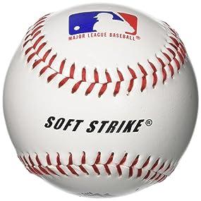 Franklin Sports Soft-Strike Tee-Ball White Baseballs Sports ...