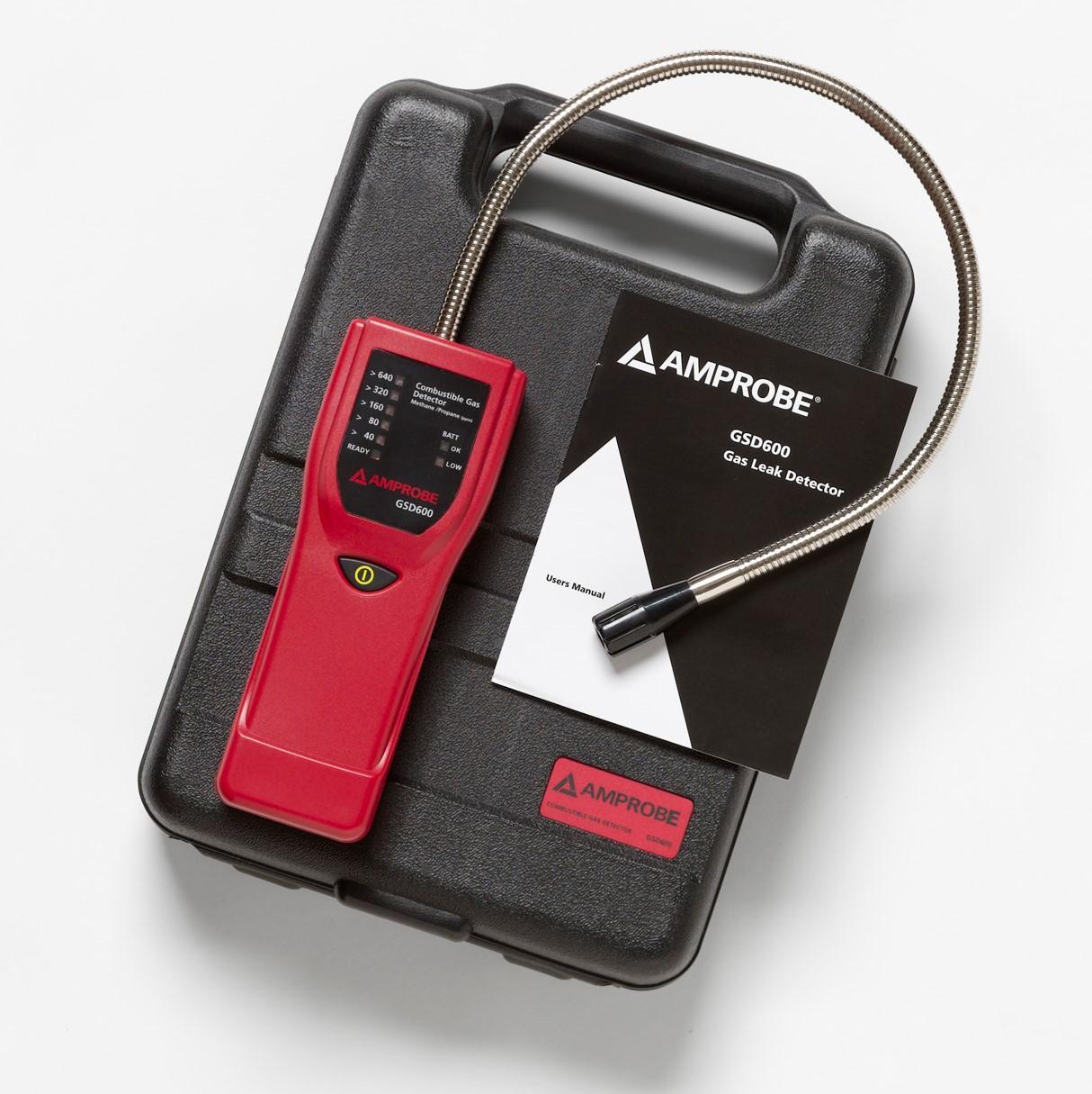 Amprobe GSD600 Gas Leak Detector: Carbon Monoxide Detectors ...