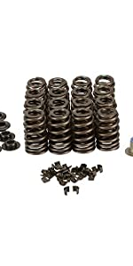 COMP Cams 26906CS-kit GM LS6 .580 Max Lift Beehive Valve Spring Kit w//Steel Retainers