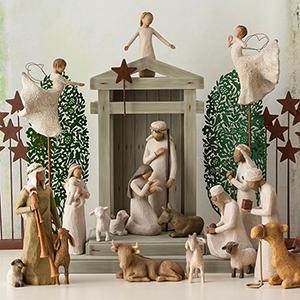sale willow tree nativity