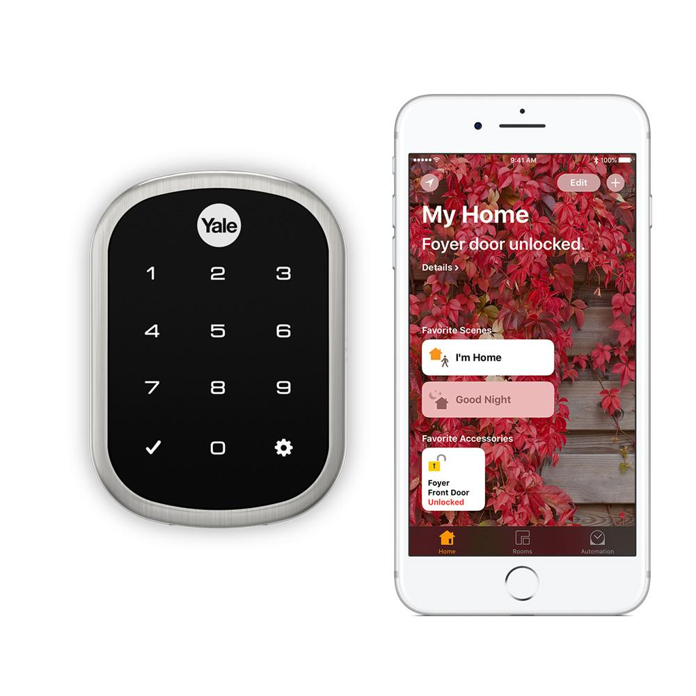 Yale Assure Lock Sl With Im1 Homekit Enabled Works With
