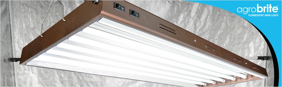 Agrobrite Designer T5 Fixture with Lamps