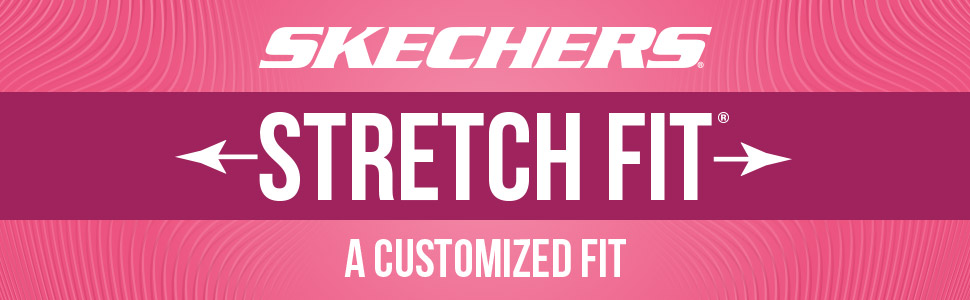 skechers stretch fit comfort casual customized fit