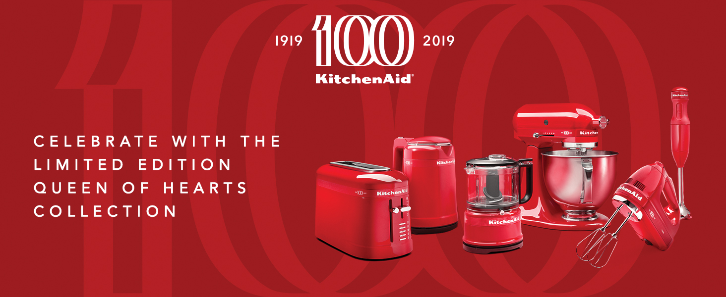 Amazon Com Kitchenaid Ksm180qhsd 100 Year Limited Edition Queen Of