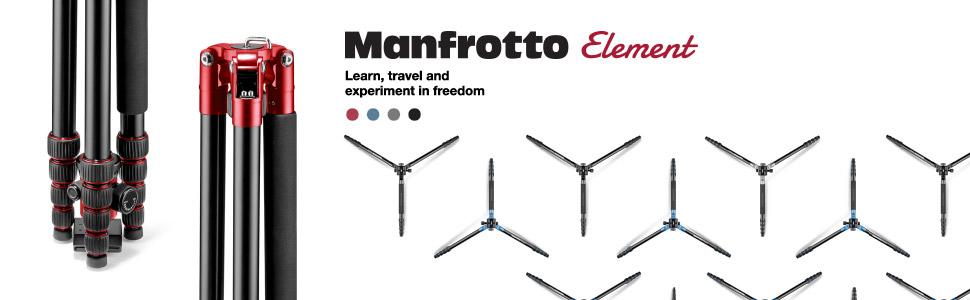 Manfrotto Element, Manfrotto, Travel, Big, Monopod